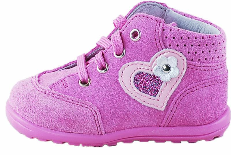 Richter rózsaszín fűzős cipő