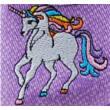 Lila, lovas, Superfit vászoncipő
