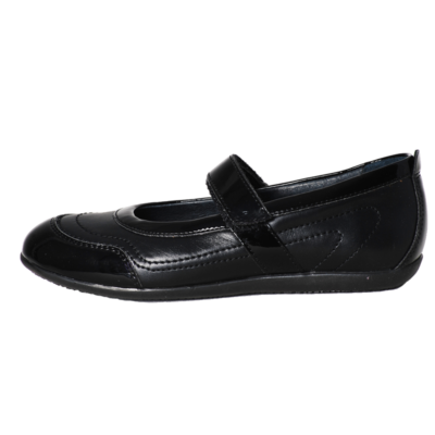 Richter fekete bőr-lakk ünneplő cipő a51ca41537