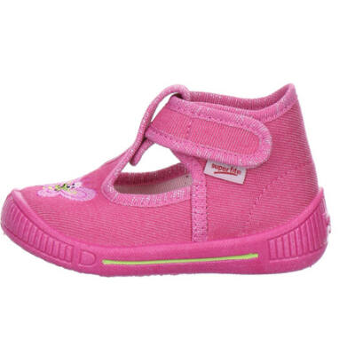 Superfit rózsaszín hímzett pillangós vászoncipő 4d38bafeff