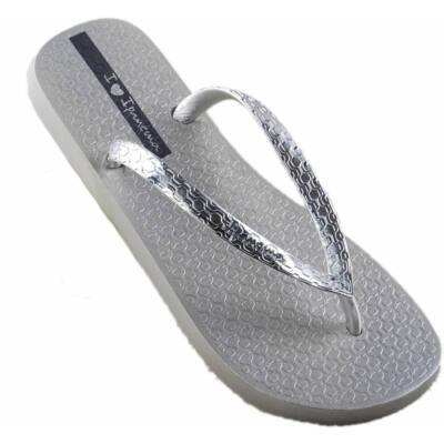 Ezüst Ipanema gumi papucs (35-36)
