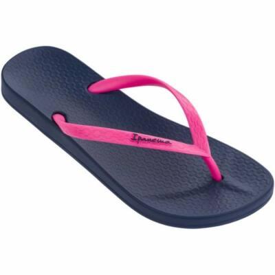 Kék-pink, gumi, Ipanema papucs (35-36)