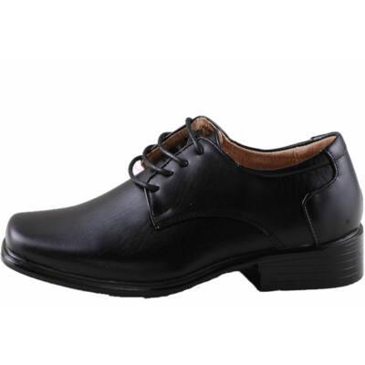 69796b238e Fekete fiú, fűzős alkalmi cipő - Levendula gyerekcipő webáruház