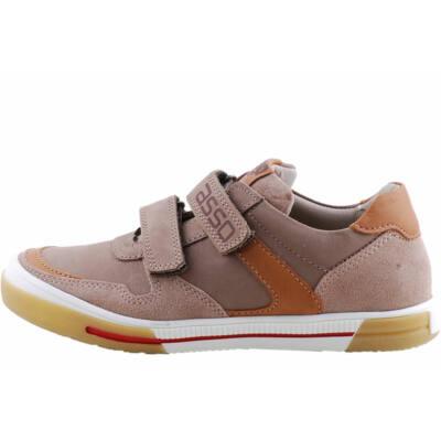 Barna, bőr Asso cipő