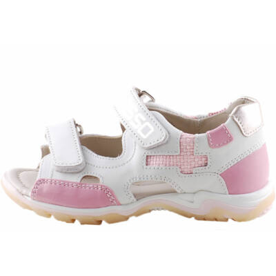 9e46a37ecc Rózsaszín-krém, 2 tépőzáras, Asso szandál - Levendula gyerekcipő ...