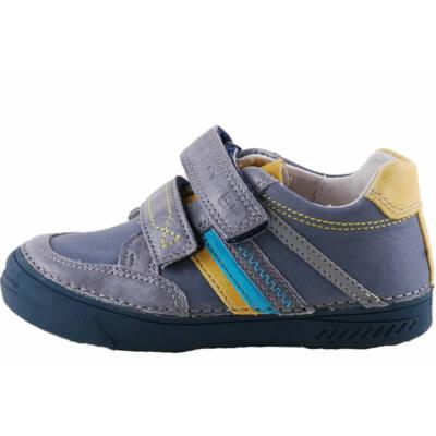 Kék, sárga csíkos, D.D.Step cipő