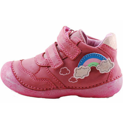 Rózsaszín, cserélhető felhős, szivárványos, D.D.Step cipő