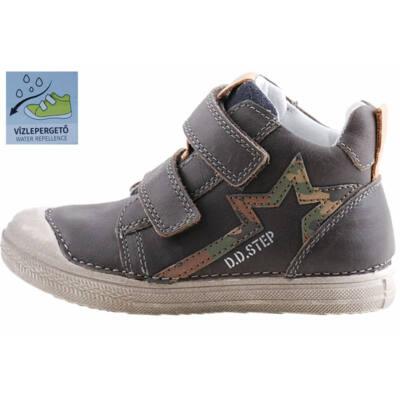 Barna-katona mintás, vízlepergetős, dd step cipő