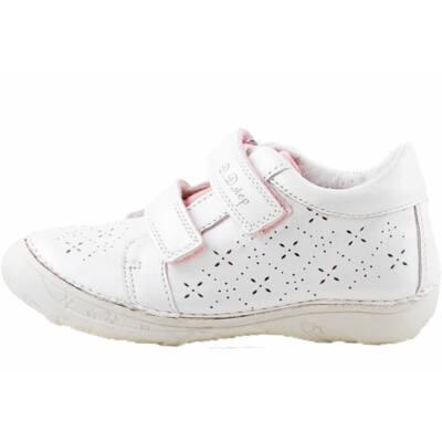 Fehér virágos, dd step cipő