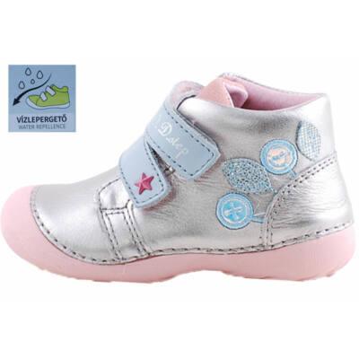 Ezüst-kék, csillagos, vízlepergetős, dd step cipő