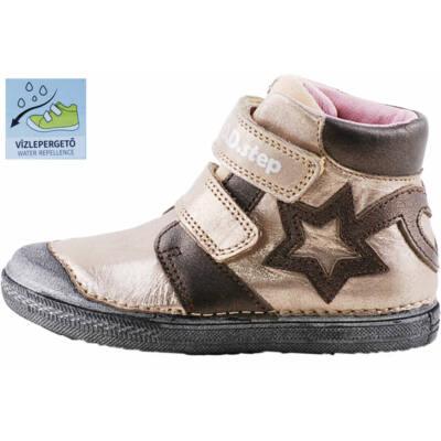 Bronz, csillagos, vízlepergetős, D.D. Step cipő