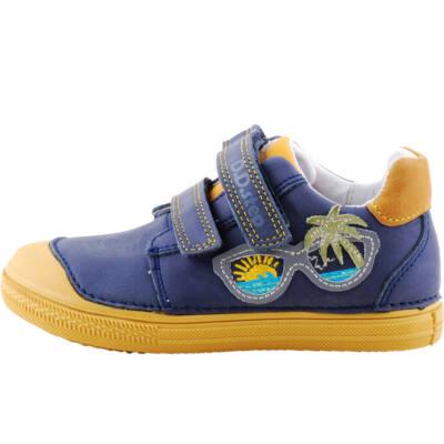 Kék-mustár, napszemüveges, dd step cipő