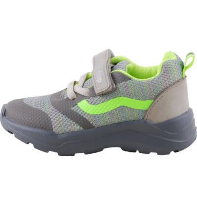 Szürke-neon, hajlékony talpú, dd step edzőcipő
