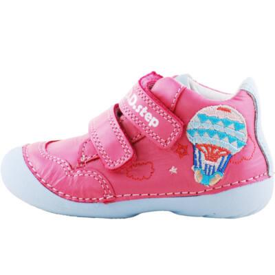 Rózsaszín légballonos, kislány, dd step cipő