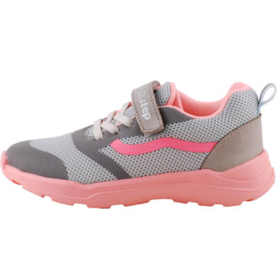 Szürke-rózsaszín, hajlékony talpú dd step edzőcipő