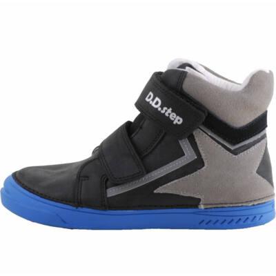 Fekete-szürke, magasszárú, dd step cipő