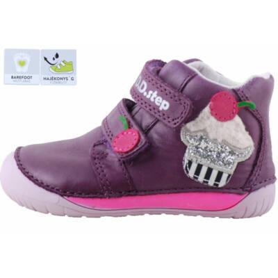 Lila, barefoot, pink muffin-os, dd, step cipő