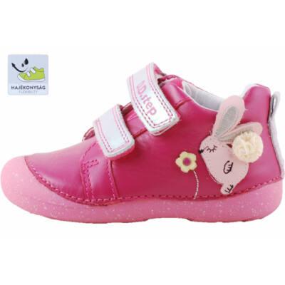Pink, nyuszis, dd step cipő