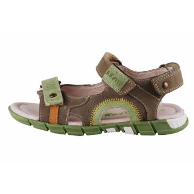 57abd5d10d8 D.D.Step keki-zöld hátul pántos szandál - Levendula gyerekcipő