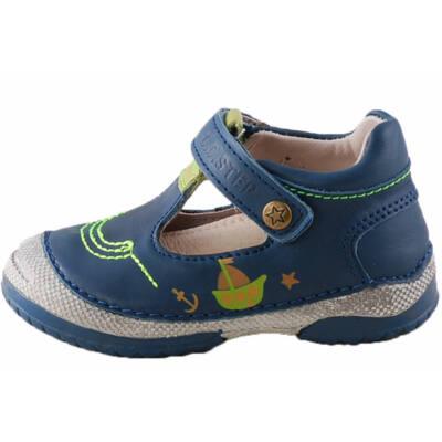 Sötétkék, hajós, kishajós, D.D.Step fiú, tavaszi cipő
