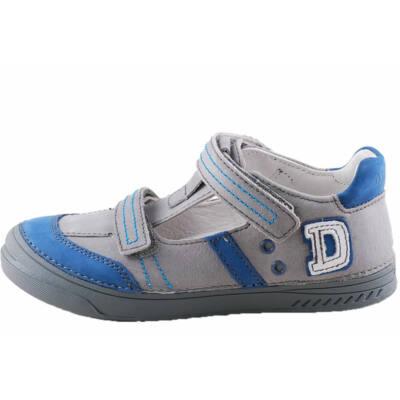 Viágosszürke-kék, D.D.Step, fiú, nyitott cipő