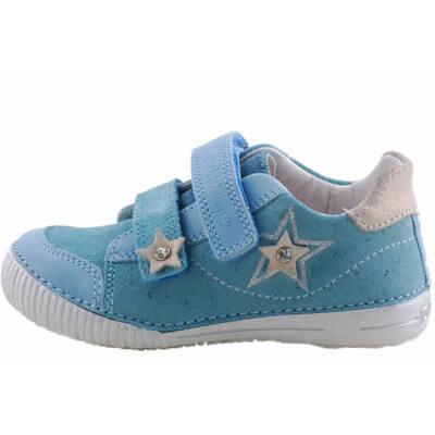 Kék, ezüst csillagos, D.D.Step cipő