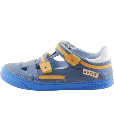 Kék-mustár, D.D. Step szandálcipő