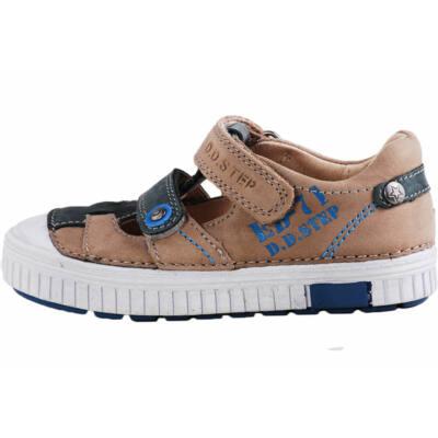 D.D.Step világosbarna-szürke tavaszi cipő