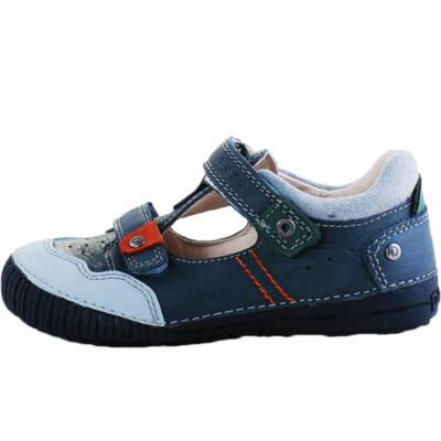 D.D.Step sötétszürke-zöld fiú tavaszi cipő