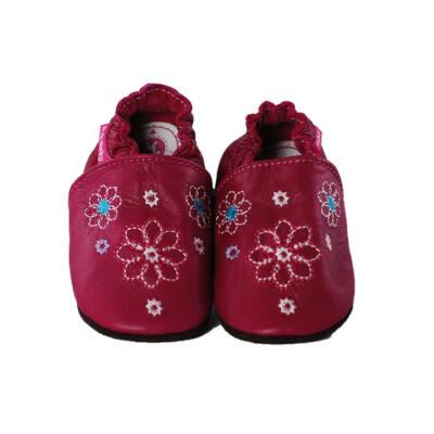 D.D.Step ciklámen hímzett virágos puhatalpú cipő