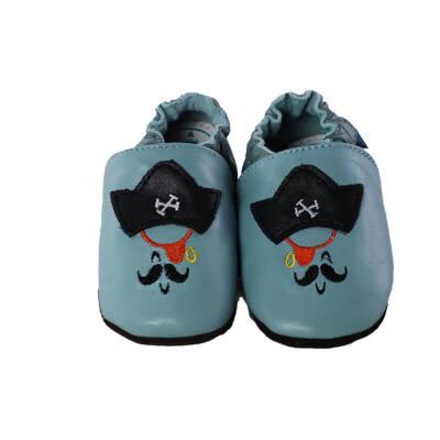 D.D.Step világoskék, kalózos puhatalpú cipő