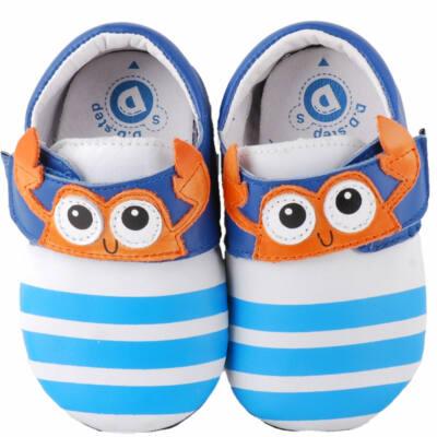 Krém-kék, rákocskás, dd step, puhatalpú cipő