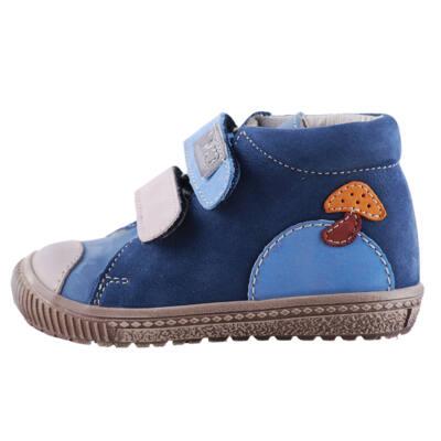 e7868fd01b1 Falcon kék gombás átmeneti cipő - Levendula gyerekcipő