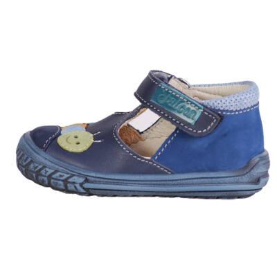 Falcon kék kukacos szandálcipő