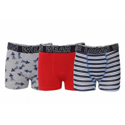 b4a0e2c1f6 Losan 3 db-os fiú boxer alsónadrág (92) - Levendula gyerekcipő webáruház
