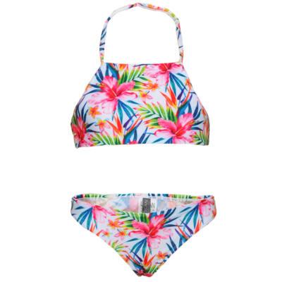f8442c0f6a Losan vidám virágmintás bikini (128) - Levendula gyerekcipő webáruház