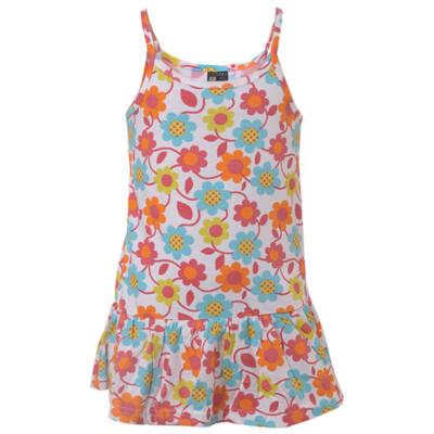 Losan színes margarétás nyári pántos ruha (98)