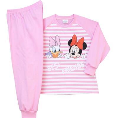 Pampress rózsaszín csíkos Minnie és Daisy hosszú ujjú pizsama ... 21a66d356c