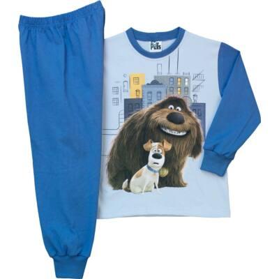 Pampress Kiskedvencek fiú hosszú ujjú pizsama - Levendula gyerekcipő f747968f72