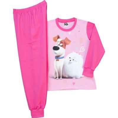 Pampress Kiskedvencek lányka hosszú ujjú pizsama - Levendula gyerekcipő 279372ed2c