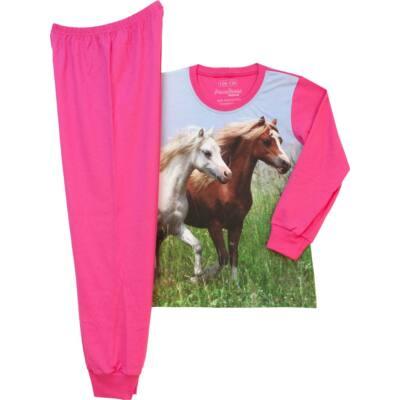 Pampress ciklámen lovas pizsama - Levendula gyerekcipő b7a62ecee2