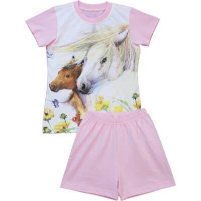 Rózsaszín lovas fe25137949