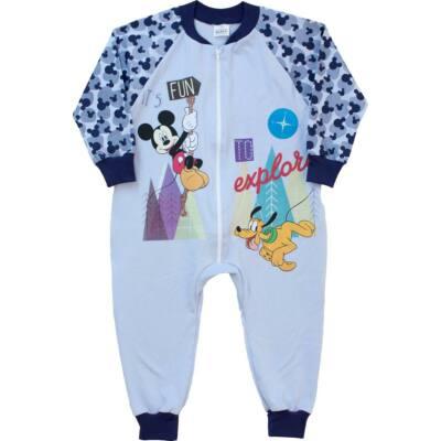 Pampress kék Mickey egeres kezeslábas gyerek pizsama