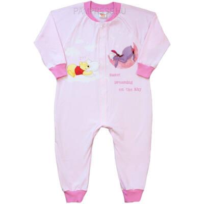 Pampress rózsaszín micimackós pizsama overáll