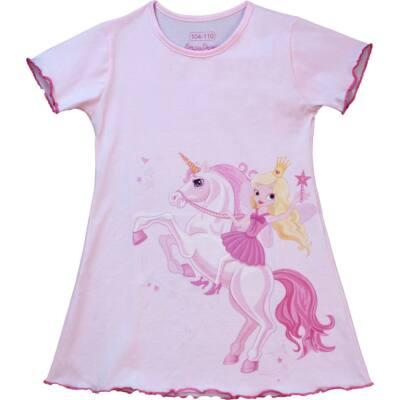 0d03f0369e Rózsaszín, hercegnős, unikornis-os rövid ujjú Pampress hálóing ...