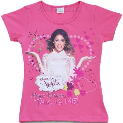 Pampress rózsaszín Violettás póló