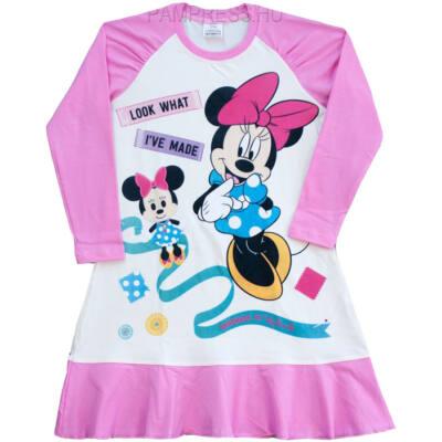 Pampress Minnie egeres hosszú ujjú hálóing - Levendula gyerekcipő 8cb4171091
