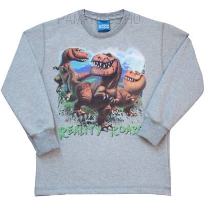 Pampress Dínós szürke pulóver