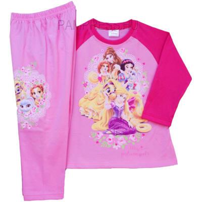 Pampress rózsaszín hercegnős pizsama - Levendula gyerekcipő 71a49954d0