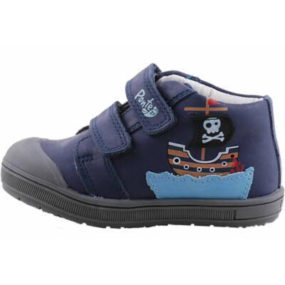 Kék, kishajós, nagy gumi orrú Ponte 20 supinált cipő